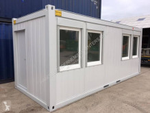 6 x 2,4m - 20ft Bureaucontainers container brugt