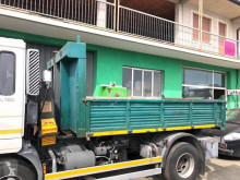 Skip loader box bodywork CONTAINER SCARRABILE A PIANALE CON SPONDE IN FERRO