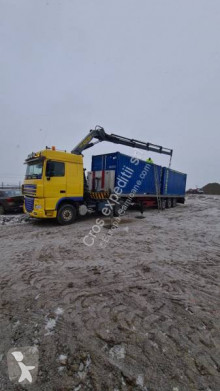 DAF Xf95 grue auxiliaire occasion