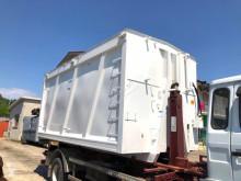 Skip loader box bodywork CONTAINER NUOVO CON COPERCHIO IDRAULICO DOPPIA