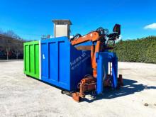 CONTAINER SCARRABILE USATO A CIELO APERTO CON GRU carroçaria caixa polibasculante usado