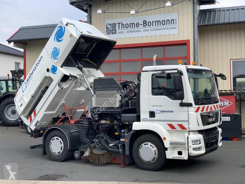 View images MAN TGM 15250 Bucher road network trucks