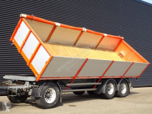 Remorque 3 SIDE TIPPER TRAILER / LIFT AXLE benne occasion