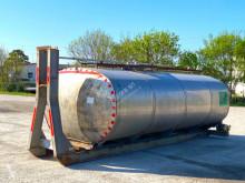 Karrosseri skip loader kasse CISTERNA USATA INOX CONTENITORE PER MATERIALE LIQ