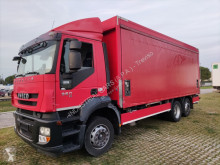 Caminhões caixa aberta com lona Iveco