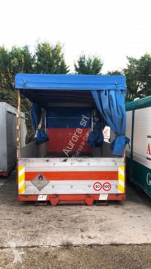 Skip loader box bodywork CONTAINER USATO CENTINATO NON SCARRABILE CON TELO