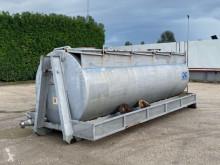 Skip loader box bodywork CISTERNA SCARRABILE USATA IN FERRO PER LIQUIDI CON