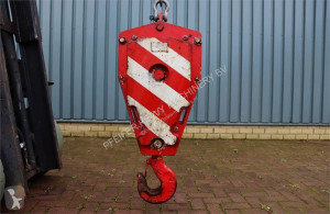 Demag HOOKBLOCK 16t 16t, 1 Sheave, Ø 16 mm used hook
