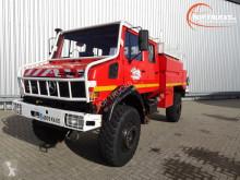 Camion pompiers Unimog 2150 L380 - Mercedes Benz, Doppelkabine, SIDES CCF4000 ltr. feuerwehr - fire brigade - brandweer, Pomp