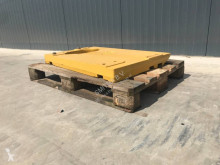 Caterpillar wheel loader counterweight equipment spare parts