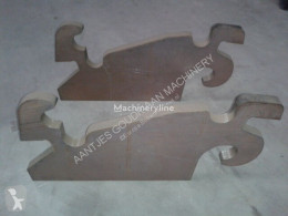Crochet d'attelage Snelwisselplaten pour excavateur neuf new hitch and couplers