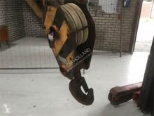 Equipamentos de obras 19mm 3 sheave 25t equipamento grua gancho usado