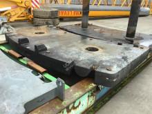 Vybavenie stavebného stroja príslušenstvo k žeriavu protizávažie Grove GMK 5100 counterweight 4T