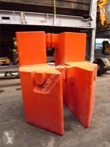 Vybavenie stavebného stroja príslušenstvo k žeriavu protizávažie Grove GMK 6250/6300 Counterweight