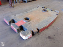 Vybavenie stavebného stroja príslušenstvo k žeriavu protizávažie Grove GMK 5130-1/2 counterweight 5.0 ton