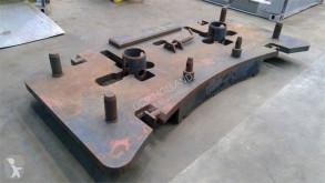 Vybavenie stavebného stroja príslušenstvo k žeriavu protizávažie Krupp Counterweight KMK 5100