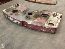 Vybavenie stavebného stroja príslušenstvo k žeriavu protizávažie Krupp KMK 3045 counterweight 3.4 t