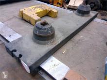 Equipamentos de obras Liebherr LTM 1080-1 counterweight 1.9 ton equipamento grua contrapeso usado