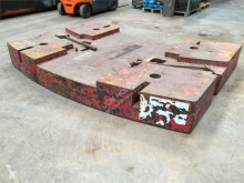 Equipamientos maquinaria OP Liebherr LTM 1160 counterweight 13,5 t equipamiento grúa contrapeso usado