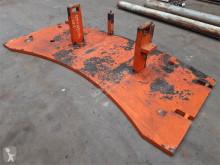Equipamientos maquinaria OP Terex Demag AC 205 1.2 ton counterweight equipamiento grúa contrapeso usado