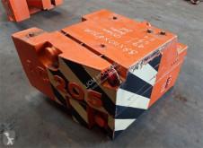 Terex Demag AC 205 2.4 ton counterweight (0.7/1.7 ton) contrapeso usado