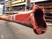 Equipamentos de obras Terex Demag Demag AC 155 tele section 3 equipamento grua mastros usado