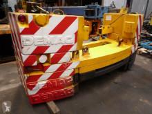 Equipamentos de obras Terex Demag Demag AC 155 counterweight equipamento grua contrapeso usado