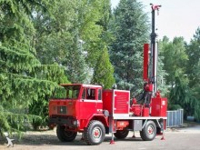 Teredo drilling vehicle drilling, harvesting, trenching equipment HD 312
