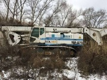 Soilmec SM870 drilling, harvesting, trenching equipment