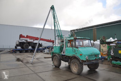 Mercedes drilling vehicle drilling, harvesting, trenching equipment