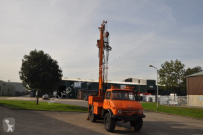 Unimog drilling vehicle drilling, harvesting, trenching equipment 416 boormachine