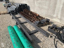 Drilling vehicle drilling, harvesting, trenching equipment Chariot