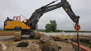 Escavadora de perfuração, de bate-estacas,de valas Volvo EC300 ENL máquina bate-estacas usada