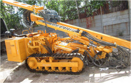 Klemm drilling vehicle drilling, harvesting, trenching equipment KR806D
