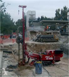 EGT钻井,打桩,下料设备 MD 700 凿井机 二手
