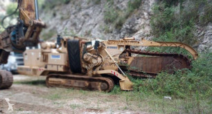 Tesmec TRS1100 drilling, harvesting, trenching equipment used trencher
