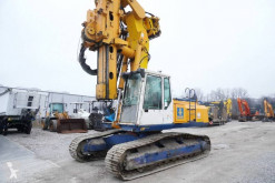 Bauer drilling vehicle drilling, harvesting, trenching equipment BG 12 V , crawler drilling rig