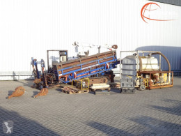 American Auger DD-6 30 ton, Boor, Drill, Machine - Pullback - Direction + Mission Fluid King pomp tweedehands boormachine