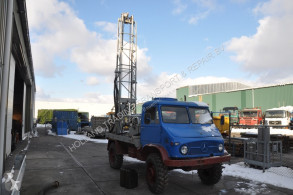Unimog s-404 boormachine Bomag drilling, harvesting, trenching equipment used drilling vehicle