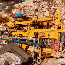 Comacchio MC 600 drilling, harvesting, trenching equipment used