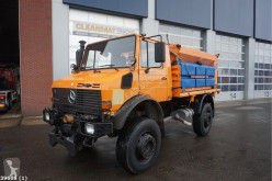 Mercedes Unimog U 2150 used gritting truck