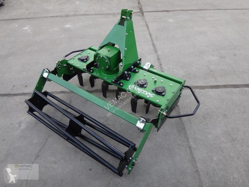 Преглед на снимките Почвообработващи машини с активни работни органи nc Kreiselegge Egge Bodenfräse Fräse Walze MG NEU