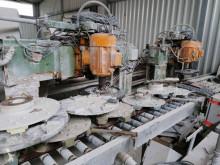 Löffler grinding line/Schleifstrasse Triturador de pedras usado