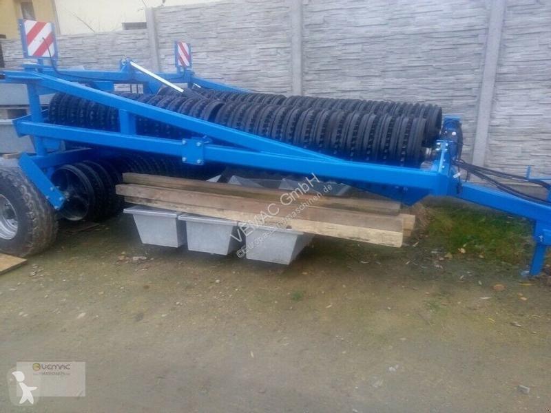 Преглед на снимките Почвообработващи машини с пасивни работни органи nc Cambridgewalze 6,2m Cambridge Walze Ackerwalze NEU