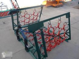 أدوات تربة غير متحركة مسلفة المروج Wiesenschleppe 4m 4reihig Schleppe Striegel Egge Profi NEU