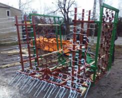 Grade de almofaçar Wiesenschleppe Wiesenstriegel Striegel 6m hydraulisch NEU