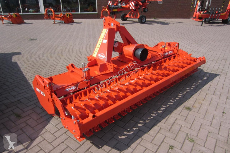 Преглед на снимките Почвообработващи машини с активни работни органи Kuhn HRB303D ROTORKOPEG