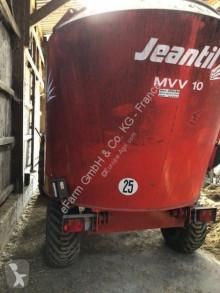 Distribución de forraje Mezcladora Jeantil