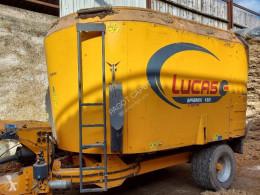 Distribución de forraje Mezcladora Lucas spirmix jet 180
