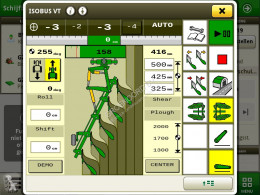 Agriculture de précision (GPS, informatique embarquée) Ploegbesturingsset